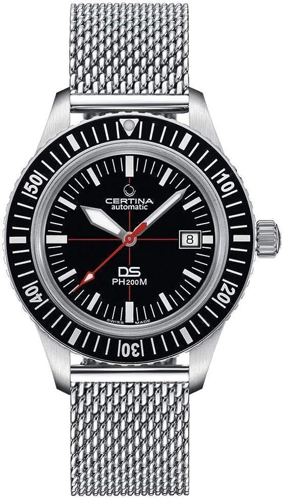 Reloj Certina Heritage DSPH 200M Hombre Automático C0364071105000