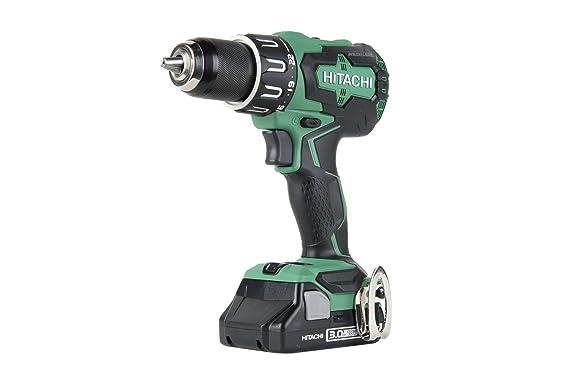 hitachi dv18dbfl2 18v cordless lithium ion brushless hammer drill rh amazon com hitachi cordless framing nailer manual Hitachi Cordless Drill
