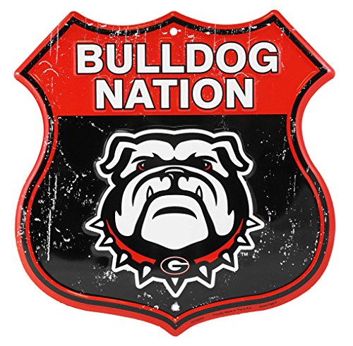 University of Georgia Bulldog Nation Route Sign