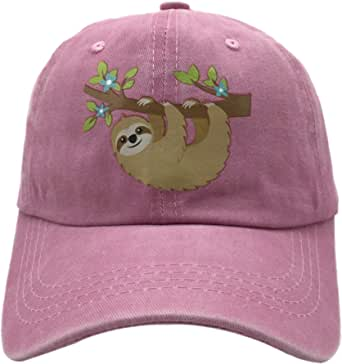 NVJUI JUFOPL Kids' Boys' & Girls Baseball Hat Vintage Washed Snapback Cap Trucker Hats