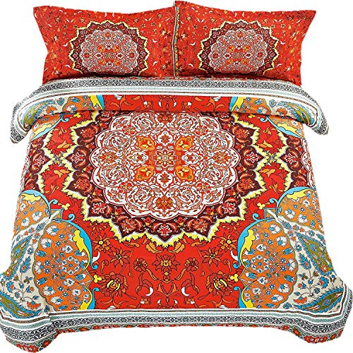 Imperial Rooms Stylish Bohemian Decor Duvet Covers Boho Bedding Quilt Cover...
