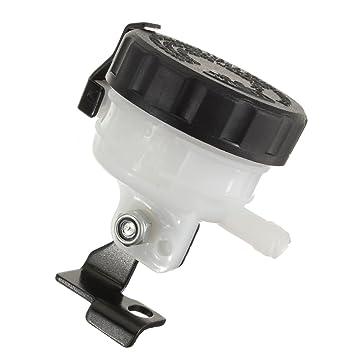 Deposito de freno delantero - SODIAL(R)Deposito de liquido de freno delantero de motocicleta adecuado para Honda Yamaha Suzuki Kawasaki: Amazon.es: Coche y ...