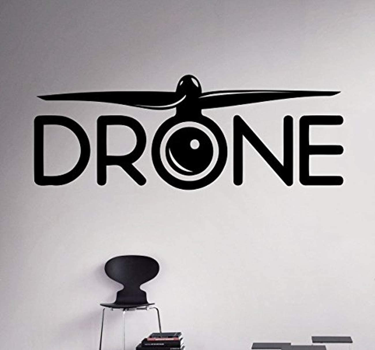 amazon com wall vinyl decal air spy drone quadcopter logo aircraft home ideas kids room vinyl decor sticker home art print wd5496 home kitchen wall vinyl decal air spy drone quadcopter logo aircraft home ideas kids room vinyl decor sticker home art print wd5496