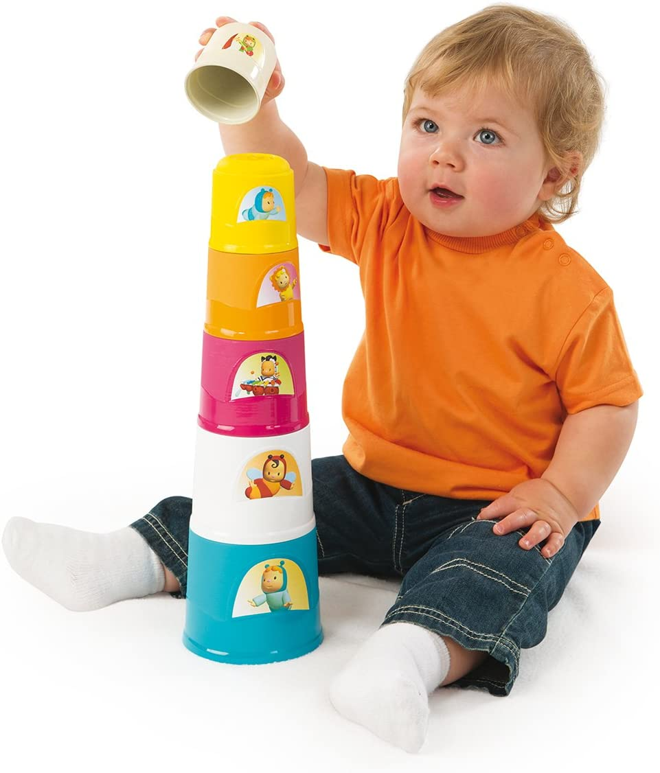 40 cm 6 Gobelets Cotoons Magic Tower 110405 Smoby