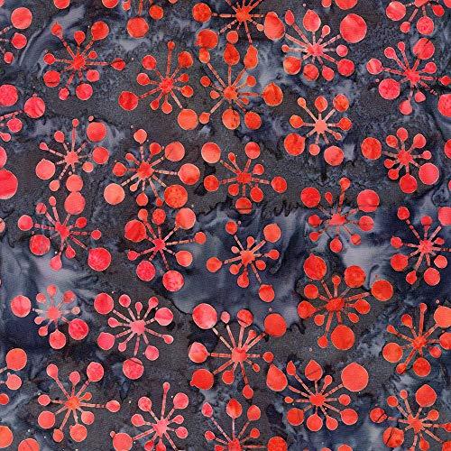 Robert Kaufman Helsinki Artisan Batiks Smoke Atomic