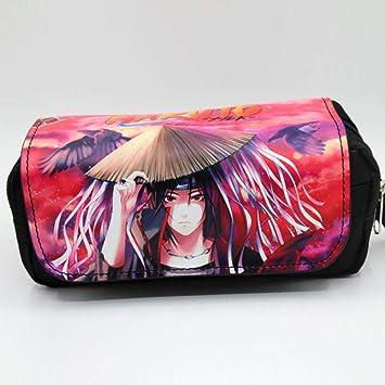 Twhoixi Anime Cartoon Naruto Kids Zipper Pencil Bags ...