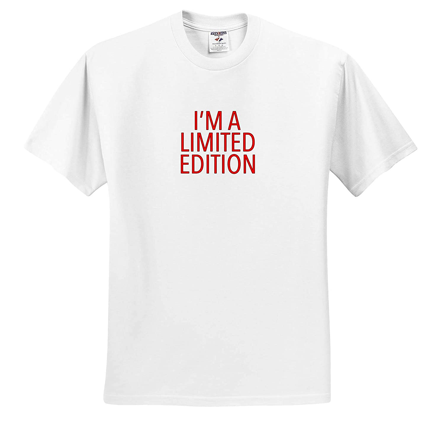 3dRose EvaDane Im A Limited Edition Red T-Shirts Funny Sayings