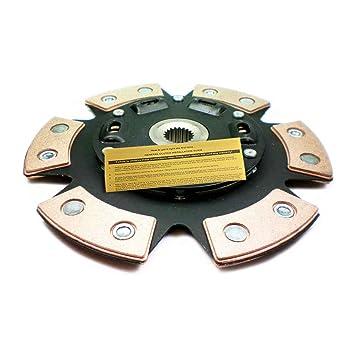 EF etapa 3 cerámica 6-puck Muelles embrague Disco Civic CRX Sephia protege MX-3 Capri: Amazon.es: Coche y moto