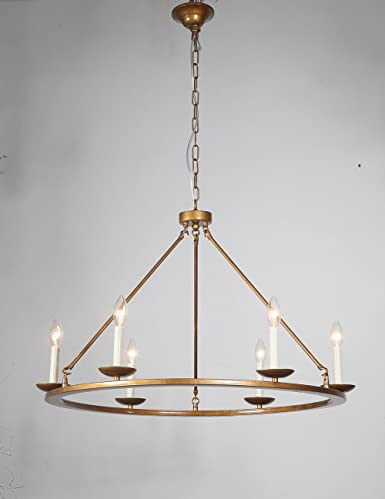 Dst round bronze simple elegant chandelier ceiling light fixture for dst round bronze simple elegant chandelier ceiling light fixture for living room dining room aloadofball Image collections