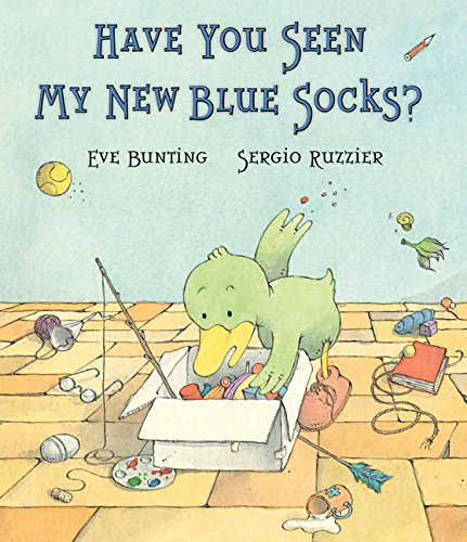 Have You Seen Blue Socks product image
