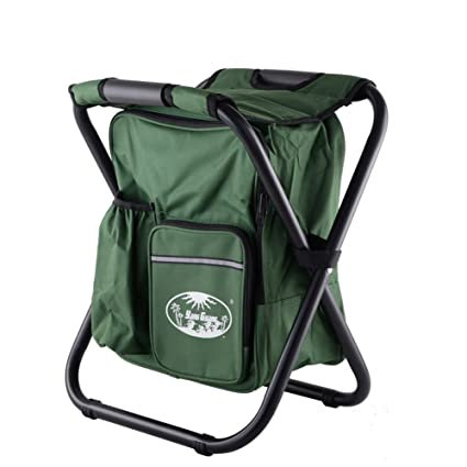 Kedera Backpack Cooler Chair - Travel Backpack - Soft Sided Cooler - Folding Stool - Insulated  sc 1 st  Amazon.com & Amazon.com : Kedera Backpack Cooler Chair - Travel Backpack - Soft ...