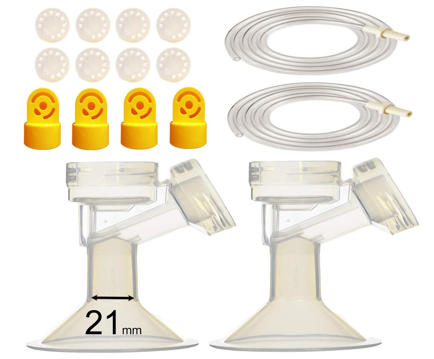 Pump Tubing and Breast Pump Kit for Medela Pump 24 mm Standard