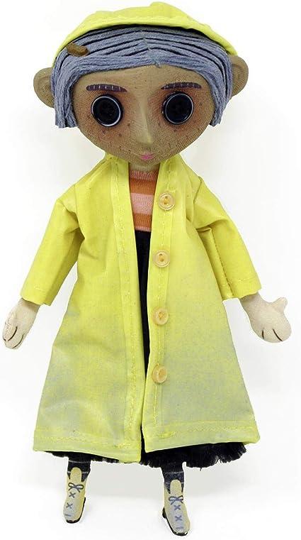 Amazon Com Neca Coraline Replica 1 1 Coraline S Doll 23 Cm Bambole Toys Games