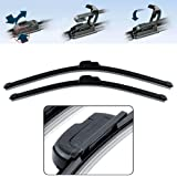 Power X Frameless Wiper Blade for Hyundai Xcent (Pack of 2)
