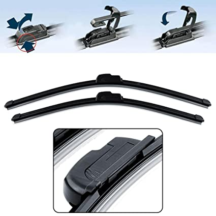 POWER X A311 Frameless Wiper Blade for Maruti Alto 800 New (Pack of 2), BLACK, 13 inches