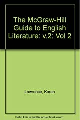 The McGraw-Hill Guide to English Literature: v.2: 002 Paperback