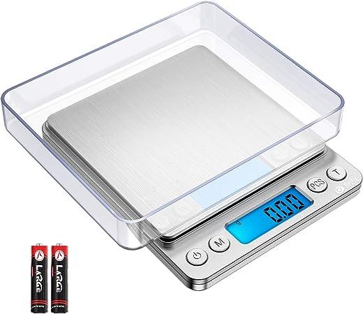 500 g, 0.01 g Brifit numérique Balance de cuisine, Mini Food Balance-Rouge