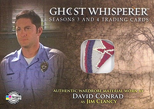 [GHOST WHISPERER 3 + 4 2010 BREYGENT COSTUME CARD #G3+4-C12 DAVID CONRAD PATCH F] (Costumes F)