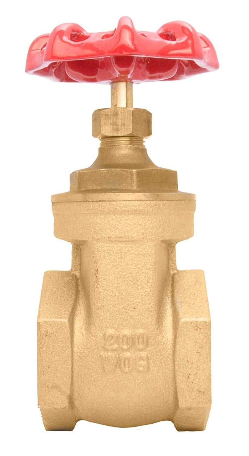 2 Inch Brass Gate Valve Reduced Bore