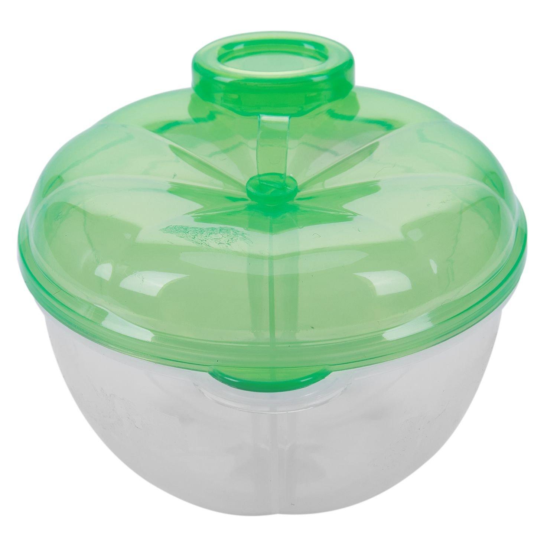 TOOGOO Formula dispensador, para no Derramamiento del bebe del dispensador de leche en polvo y Snack Copa, los alimentos para ninos contenedor de almacenamiento (luz amarilla)