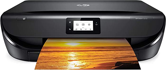 HP Envy 5010 All-in-One Wireless Printer, Copy and Scan with Built-in Wi-Fi & HP Smart App, Z4A59A (Renewed)