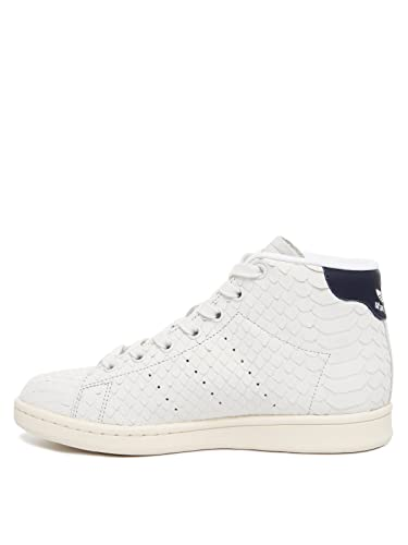 adidas Womens Originals Womens Stan Smith Mid Trainers in White - UK ... 25a3a197f00d