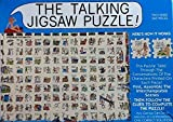 The Talking Jigsaw Puzzle ~ The Beach ~ Double Sided 560 Piece Puzzle by Buffalo Games