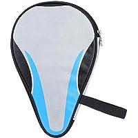 Bolso de Raqueta de Tenis de Mesa, Oxford Impermeable a Prueba de Polvo Protección Completa Funda de Paleta de Ping Pong Bolsa Organizador de Tenis de Mesa Funda de Transporte