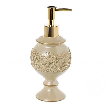 Shannon hand soap dispenser 3 75 x 3 75 x 8 25 countertop decorative