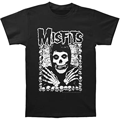 The Misfits I want your skulls adult tee black Small