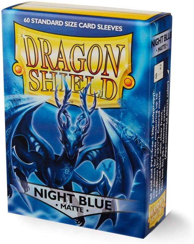 Arcane Tinmen Sleeves Dragon Shield Matte Night Blue 60