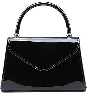 955f5a5e25 SALE NEW Elegant Women s Classy Stylish Patent Leather Clutch Bag Handbag Chain  Crossbody bag