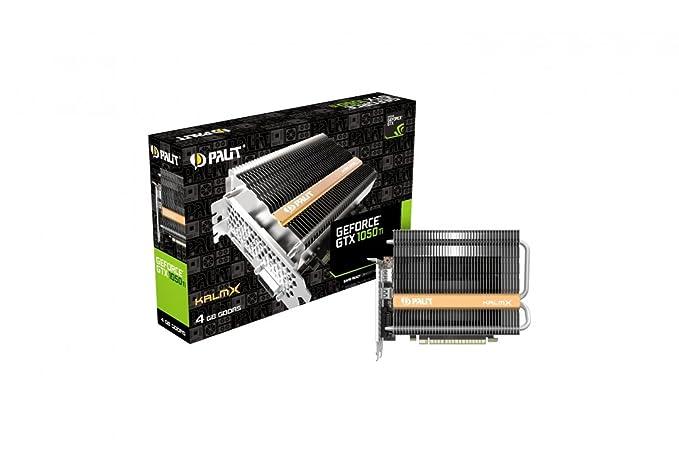 Palit NE5105T018G1-1070H GeForce GTX 1050 Ti 4GB GDDR5 - Tarjeta gráfica (GeForce GTX 1050 Ti, 4 GB, GDDR5, 128 bit, 4096 x 2160 Pixeles, PCI Express ...