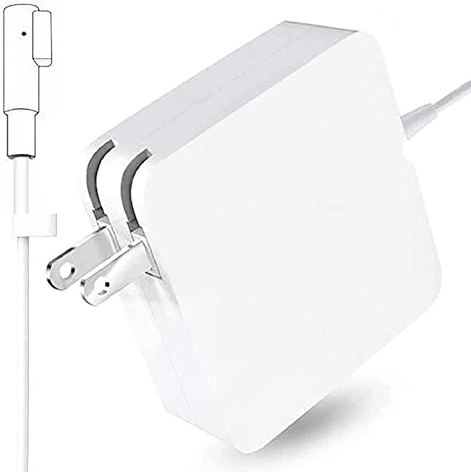 Mac Book Pro Charger Replacement 85W L-Tip Power Adapter Magnetic Compatible for Mac Book Pro 15-Inch and 17-inch Laptop