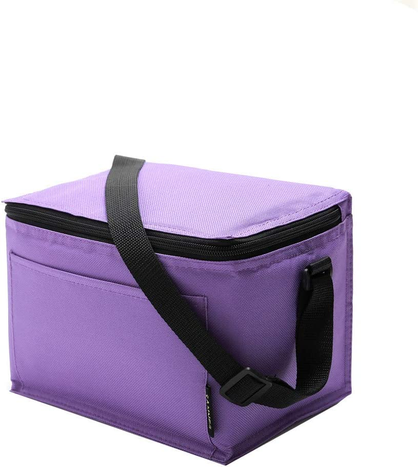 Homme Sac Pique-Nique Multi-Usages /à l/'/École pour Femme Serria Sac Repas Isotherme pour D/éjeuner Lunch Bag Portable 5L /École et Bureau