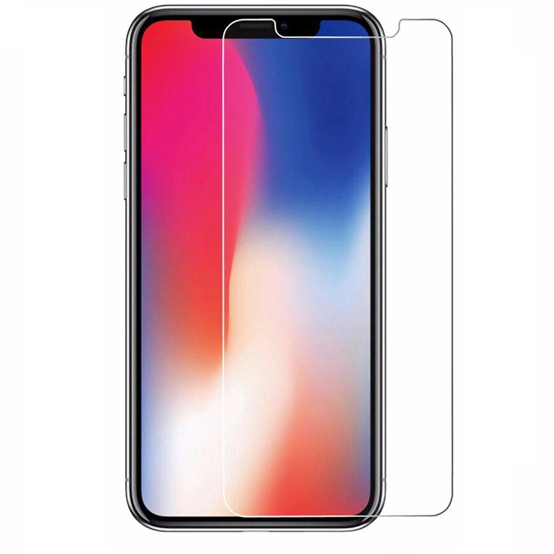 Pellicole per Apple Iphone X//iPhone 10/5.8/pollici dello schermo pellicola protettiva in vetro temperato