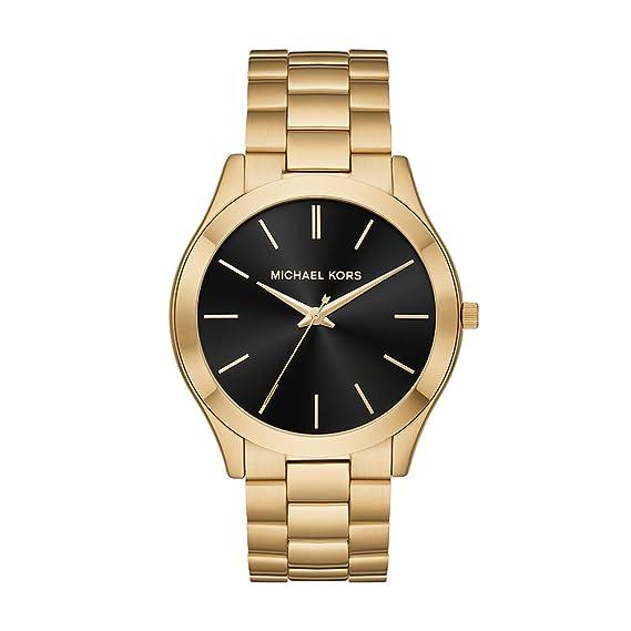 cd6ddd8923548 Michael Kors Men s  Slim Runway  Quartz Stainless Steel Casual Watch ...