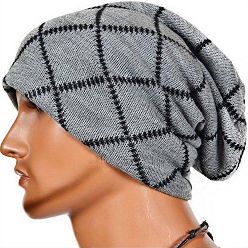 sombreros Los beanie negro caps Navidad invierno MASTER diamond EXTERIOR tapas sombreros hombres Grey tejidos tejido difusores de Halloween qIwYp