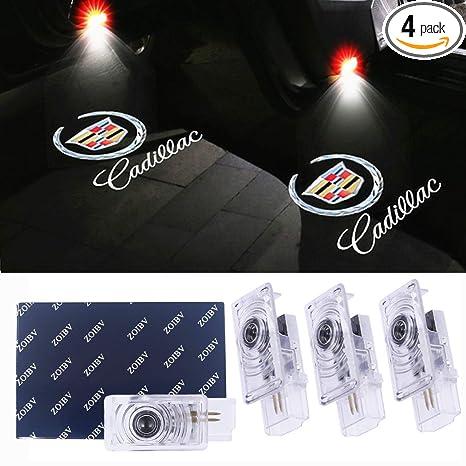 Amazon.com: Luces de puerta de coche para Cadillac para ATS ...