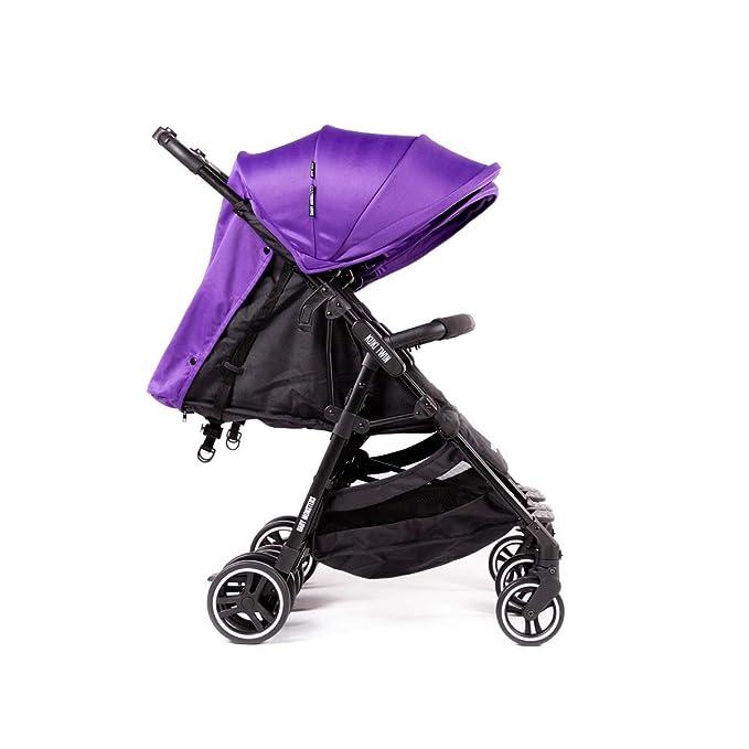Baby Monsters-Silla Gemelar Ligera Kuki Twin + Regalo de un bolso Neceser organizador- Danielstore (Purple): Amazon.es: Bebé