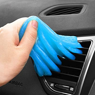 Keelyn Cleaning Gel for Car, Detailing Putty Keyboard Cleaner Universal Automotive Dust Air Vent Removal Gel Auto Interior Detail Tools for Car Laptop Keyboards: Automotive [5Bkhe1002107]