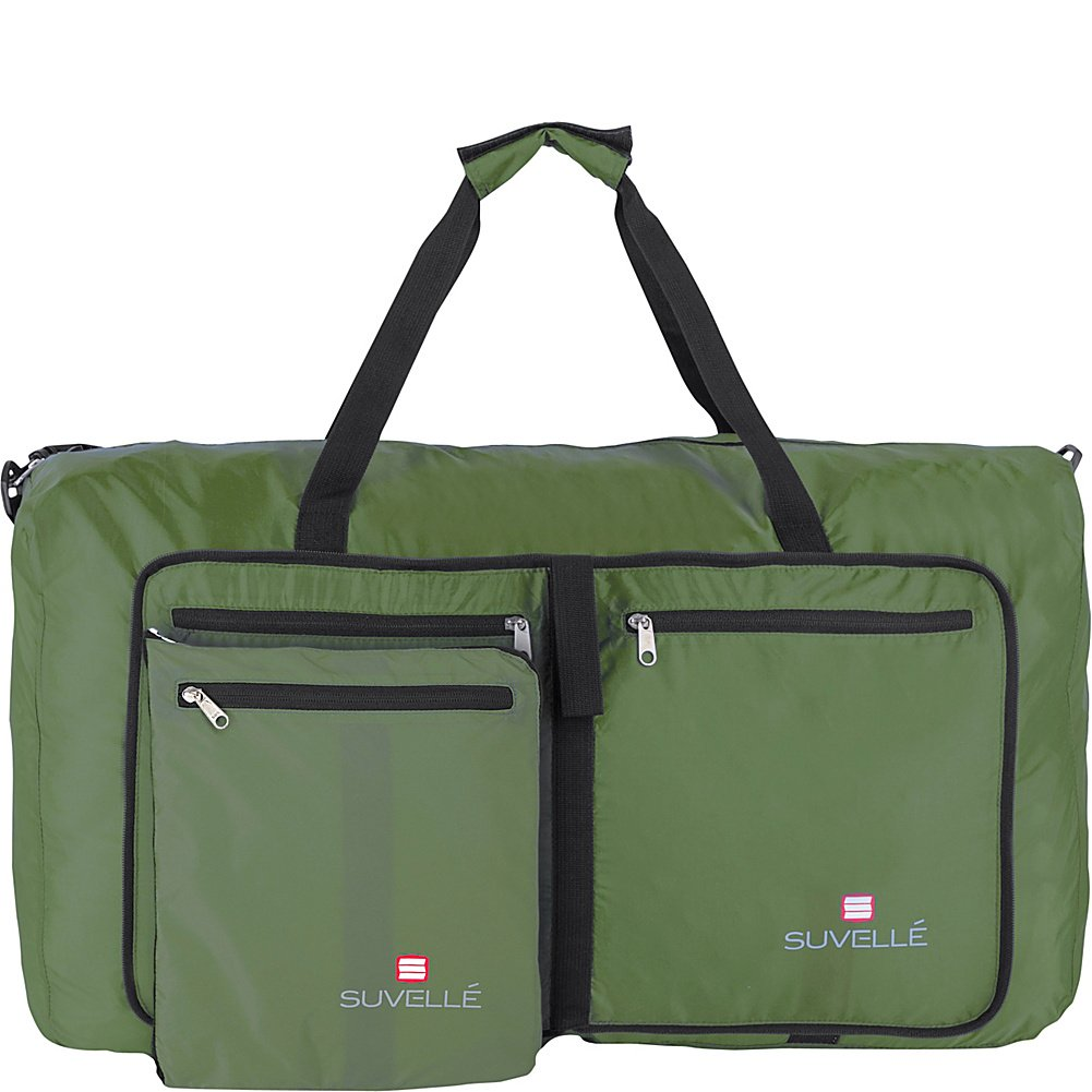Suvelle Travel Duffel Bag 29 Foldable Lightweight Duffle Bag For Luggage, Gym, Sports DF011BK