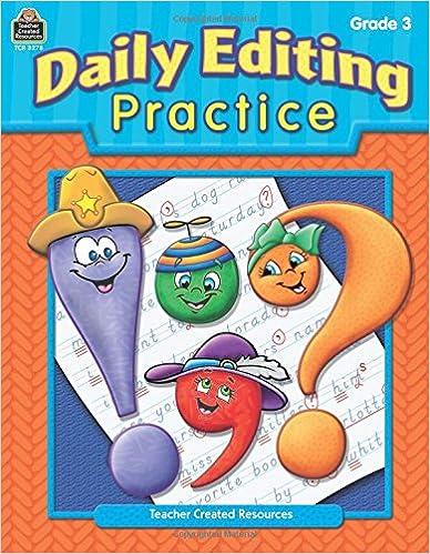 Amazon.com: Daily Editing Practice, Grade 3 (0088231932789 ...