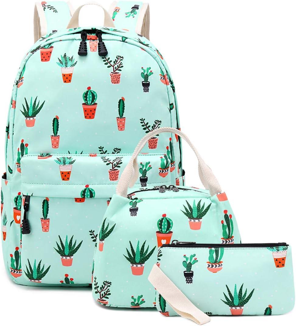 Choco Mocha 17inch Llama Backpack for Girls High School Backpack for Teen Girls Laptop Backpack for Tween Girls Middle School Alpaca Elementary Bookbags for Kids 10-12 Birthday Gift Pink