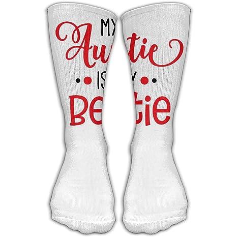 best sold worldwide casual shoes Amazon.com : YUANSHAN Socks My Auntie Is My Bestie Women ...