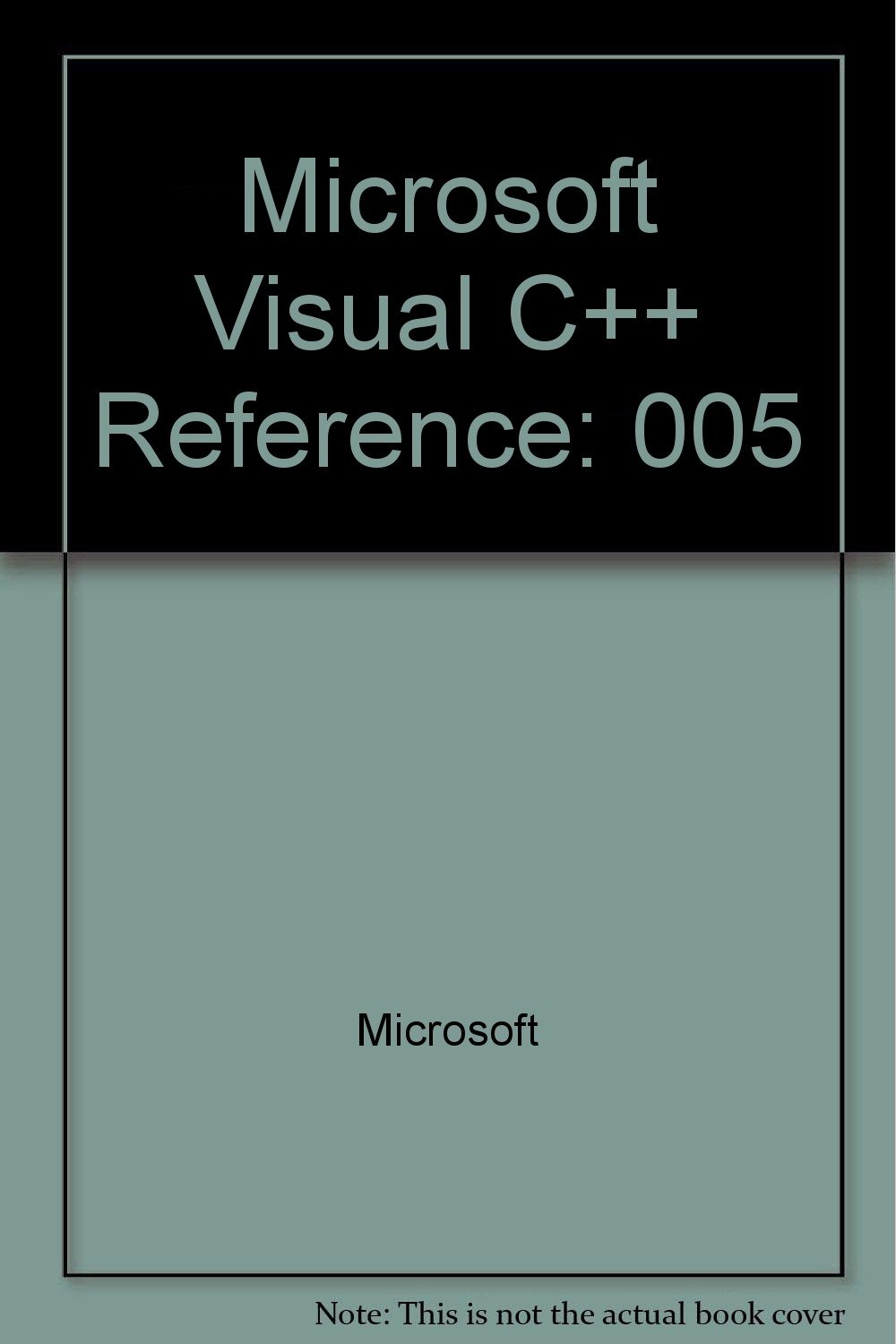Microsoft Visual C++: Development System for Windows and Windows Nt Version 2.0