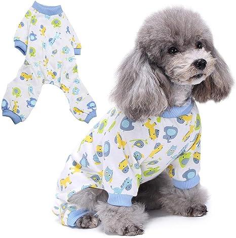 Pijamas para Mascotas Acolchados y Blandos Monos para ...