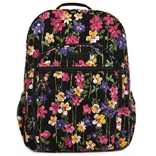 Vera Bradley Campus Backpack (Wildflower Garden)