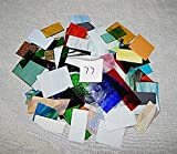 Over 10 LBS LARGE Pieces Spectrum Wissmach Stained Glass Mosaic SCRAP Lot #77