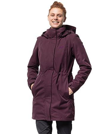 2622d8b7d1a02d Jack Wolfskin Damen Ottawa Coat 3-in-1-Mantel Wasserdicht Winddicht  Atmungsaktiv 3in1